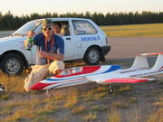 Highlight for Album: First solo jetflight at Jämi